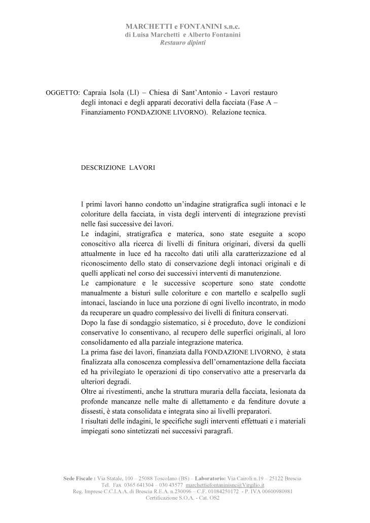 Capraia Isola Facciata S Antonio Relazione finale I Fase Lavori(2) (1)_Page_02
