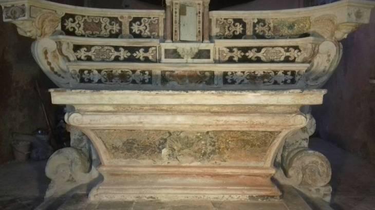 Capraia S Antonio Restauro Altar maggiore Relazione Tecnica I fase Lavori.(1)_Page_1_Image_0001